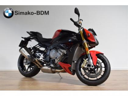 BMW S 1000 R Racing Red Black Storm