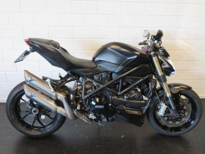 Ducati STREETFIGHTER 848 BLACK-EDITION! SF