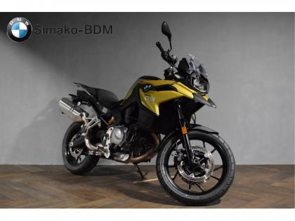 BMW F 750 GS Austin Yellow Metallic