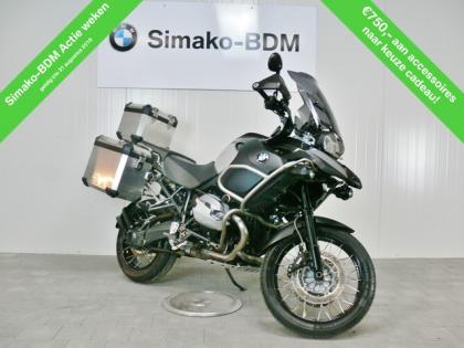 BMW R 1200 GS Adventure saphir-schwarz metallic / Motor schwarz