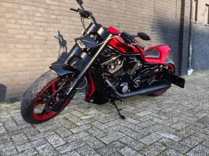 Harley-Davidson Chopper VRSCF V-Rod Muscle Special made airride