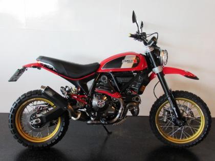 Ducati SCRAMBLER DESERT SLED NACKED BIKE