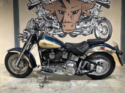 Harley-Davidson Chopper FLSTF Fat Boy
